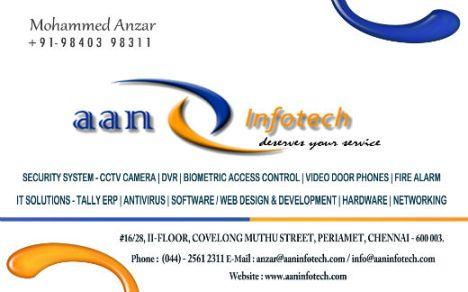 Anzar - Business Card