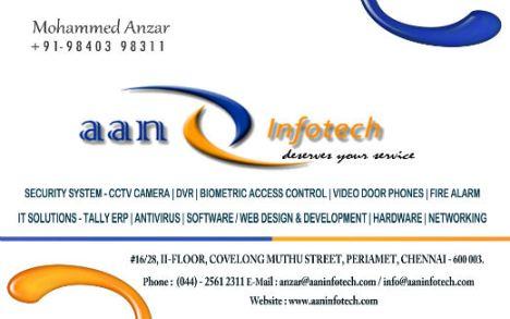 anzar-business-card